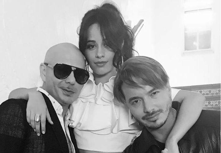 Camila Cabello y J Balvin (der.) cantan el tema de la nueva entrega de la saga Fast & Furious. (Instagram/Camila Cabello)
