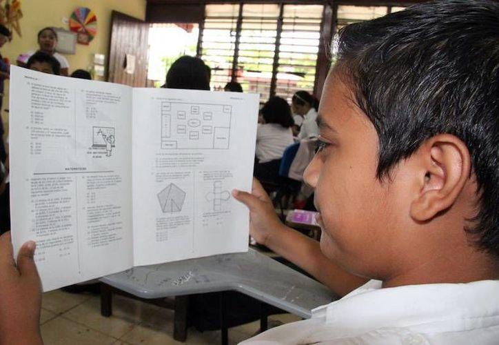 Del 3 al 7 de junio alumnos yucatecos presentarán la prueba Enlace. (Milenio Novedades)