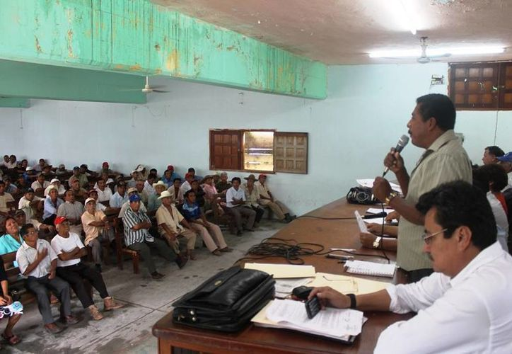 Hace unos días la asamblea ejidal acordó establecer el diálogo con el organismo descentralizado a fin de negociar la cesión de tierras. (Edgardo Rodríguez/SIPSE)