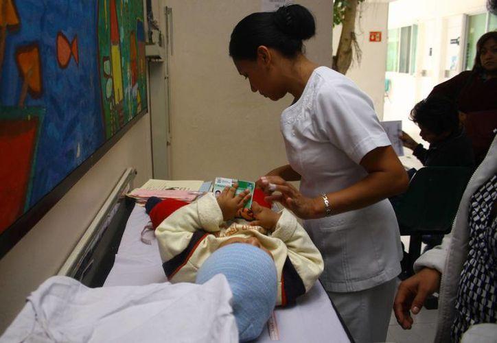 Asma bronquial con alta incidencia en fin de año. (Milenio Novedades)