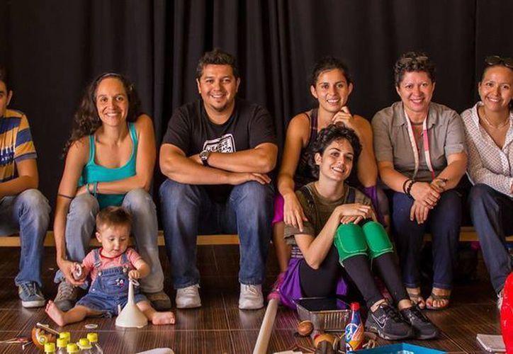 La compañía Nunca Merlot Teatro llevará cuatro puestas en escena a cinco ciudades del país. (Alejandra Flores/SIPSE)