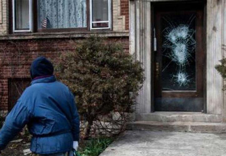 El joven causó daños en la cuadra 5300 de South Kimbark Avenue en Hyde Park. (excelsior.com)