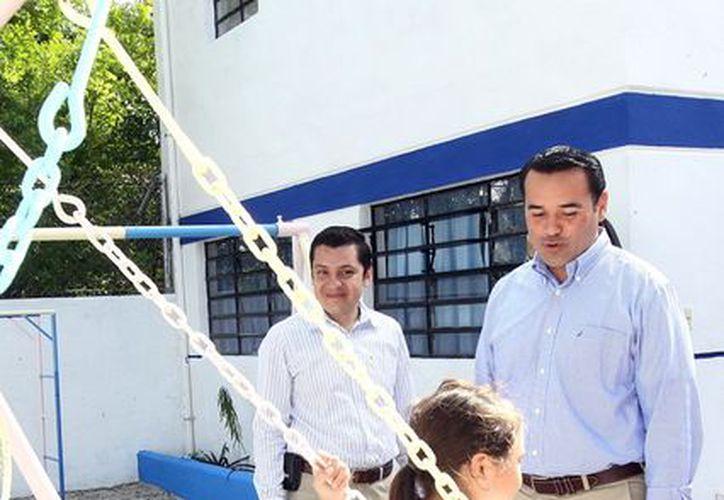 El alcalde de Mérida Renán Barrera Concha. (Milenio Novedades)