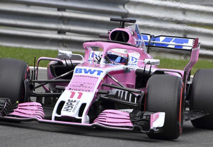 """""""Estoy realmente motivado para afrontar las últimas ocho carreras del campeonato"""", afirmó el piloto mexicano. (Internet)"""