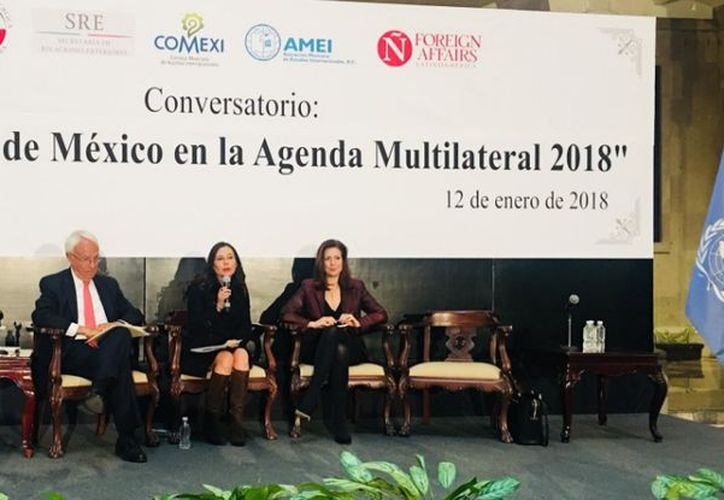 Miguel Ruiz Cabañas afirmó que México  impulsará con más fuerza un la firma de un Pacto Global de Migración. (Twitter)