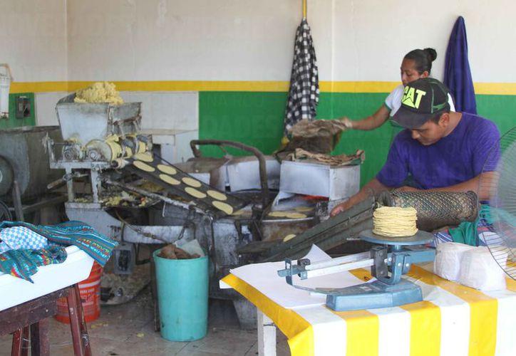 El kilo de tortillas costará dos pesos más en Chetumal. (Joel Zamora/SIPSE)