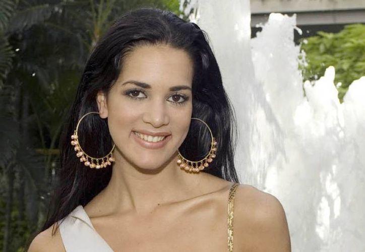 Mónica Spear, asesinada el lunes por unos delincuentes, ganó el concurso Miss Venezuela en 2004; luego participó en Miss Universo y ocupó el cuarto lugar. (Agencias)