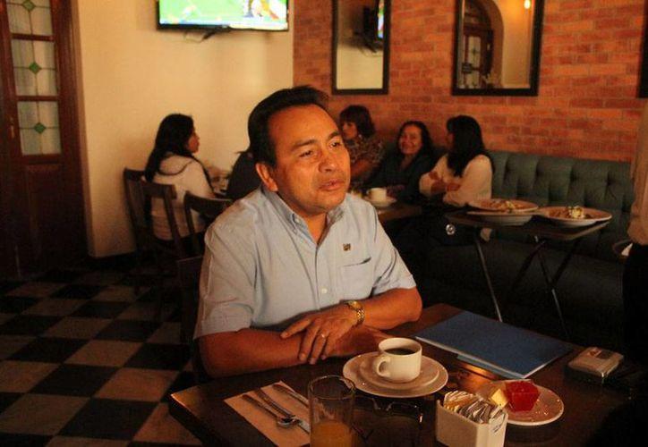 El expresidente del Comité Directivo Estatal del PAN Yucatán, Alfredo Rodríguez y Pacheco (foto), quiere 'repetir' en la presidencia del Comité Directivo Estatal (CDE). (José Acosta/Milenio Novedades)