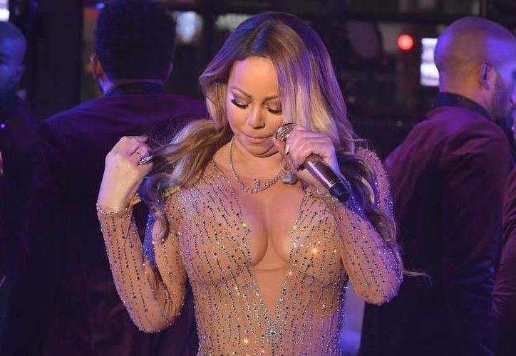 Mariah Carey abandonó la celebración por los problemas sufridos durante su presentación en el Times Square de Nueva York.(Archivo/AP)
