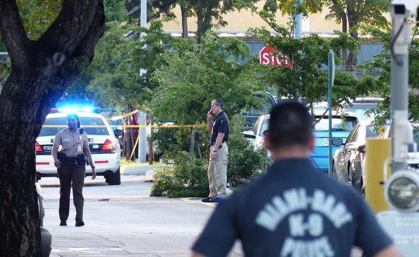 Los detectives del Departamento de Policía del condado investigan en la muerte de los dos hombres. (elnuevoherald.com)