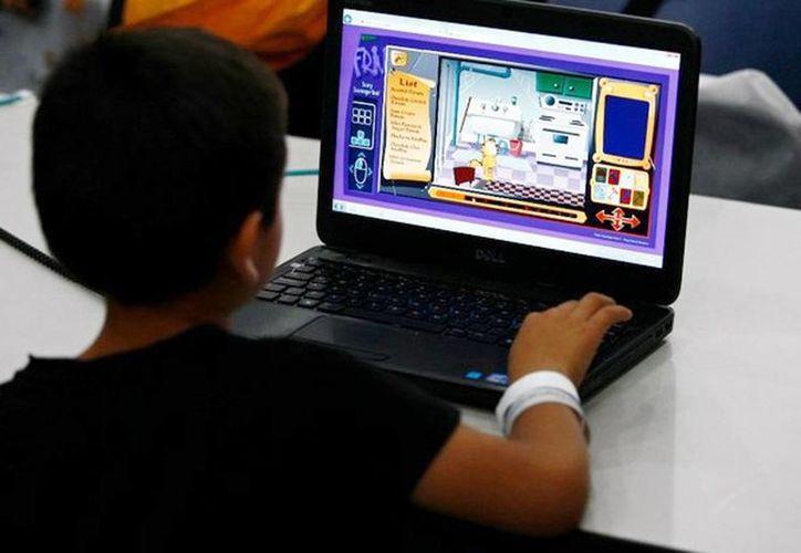Según el Inegi,  85.5 por ciento de los niños entre 12 y 17 años son usuarios de internet. (Milenio Novedades)