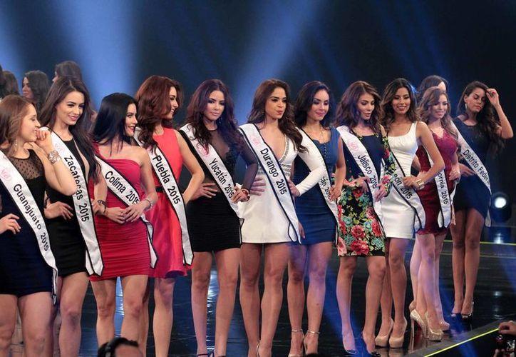 La representante de Yucatán ganó este domingo por la noche el concurso Nuestra Belleza México 2016. (Notimex)