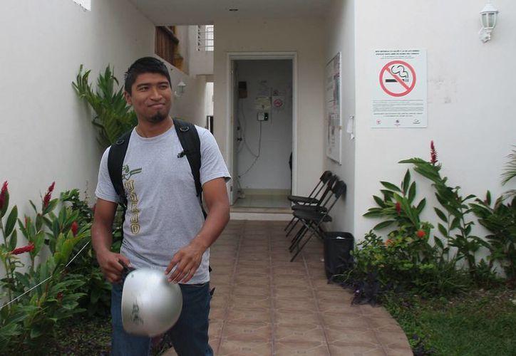 Mencionan que el joven estudia en la Universidad de Quintana Roo. (Julián Miranda/SIPSE)
