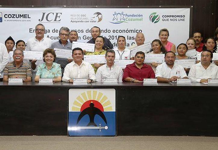 El evento se realizó  la tarde del martes en el Salón Municipios de Quintana Roo. (Cortesía/SIPSE)