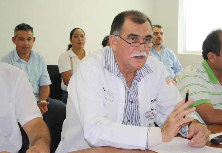 José Bolio Rosado, director del Hospital General de Playa del Carmen.