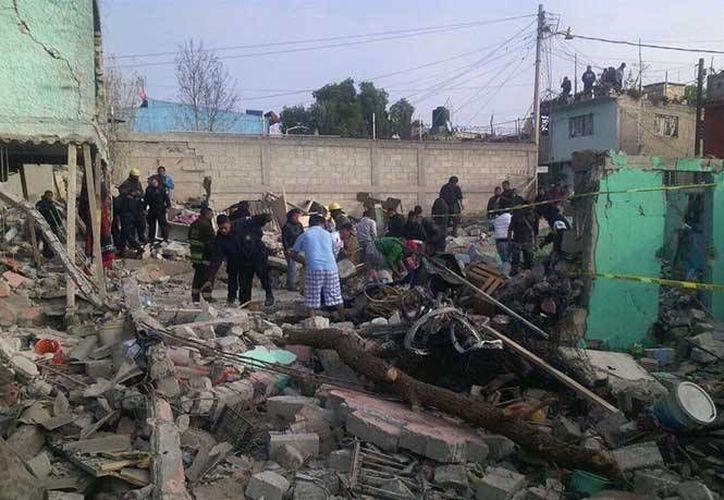 La explosión se registra semanas después de que una explosión sacudiera el mercado de San Pablito, dejando más de 40 muertos. (Milenio)