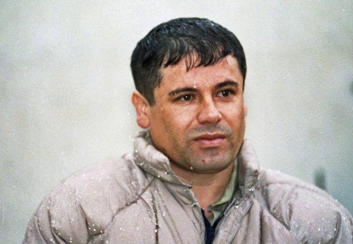 'El Chapo' Guzmán el 10 de junio de 1993, durante su presentación en el penal de Almoloya de Juárez. (Agencias)