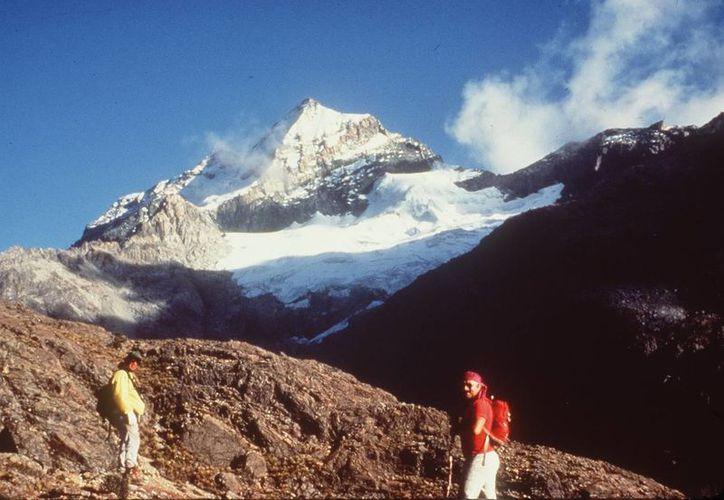 El Pico Guardián en el macizo montañoso de la Sierra Nevada de Santa Marta. (Archivo/EFE)