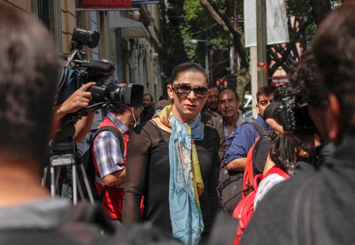 Ana Gabriela Guevara, próxima titular de Conade, dijo que se formó un equipo para elaborar el plan de trabajo y el presupuesto. (Notimex)