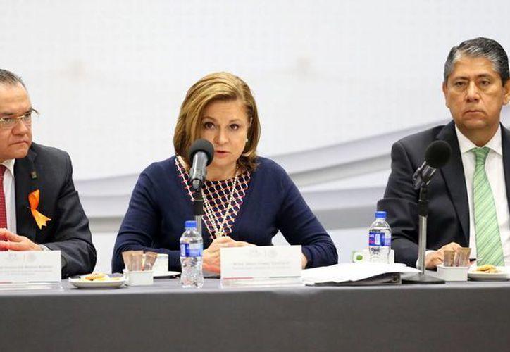 Arely Díaz aseguró que el Estado Mexicano no tolerará la impunidad en el caso Ayotzinapa. (Notimex)