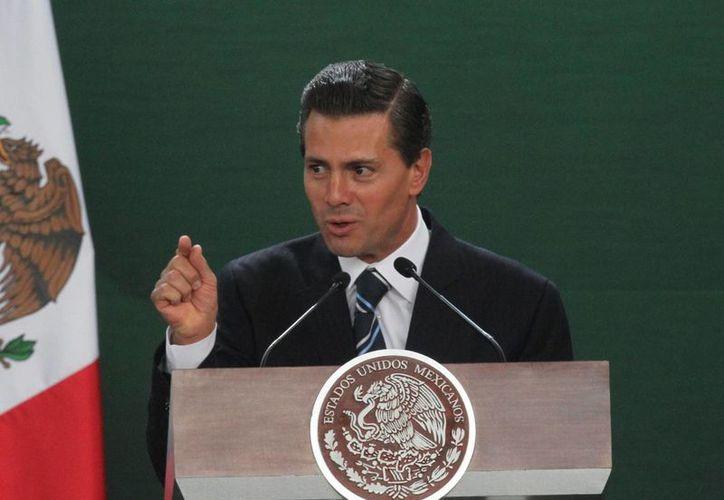 Peña Nieto afirmó que todas las políticas están alineadas a un objetivo: propiciar condiciones de mayor bienestar para las familias mexicanas. (Archivo/Notimex)