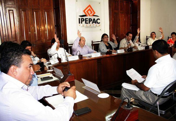 El 12 de octubre pasado, el Consejo General del IPEPAC aprobó el proyecto de presupuesto de egresos por 114.2 mdp. (SIPSE)