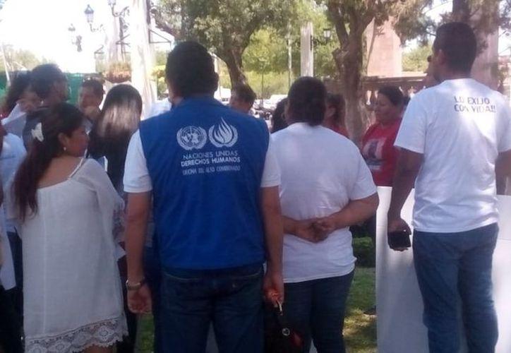 ONU pide a México acciones urgentes para trabajar en los casos de desaparecidos y proteger a sus familias. (Foto: Twitter ONU-DH