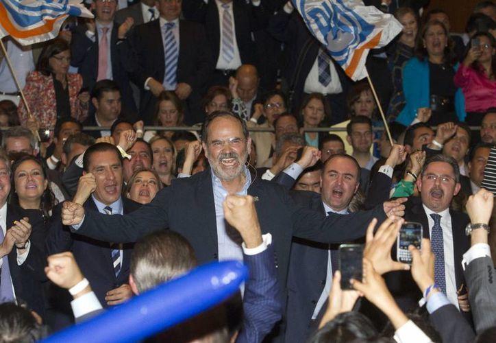 Gustavo Madero iniciará su campaña por la presidencia panista en el municipio mexiquense de Huehuetoca. (Archivo/Notimex)