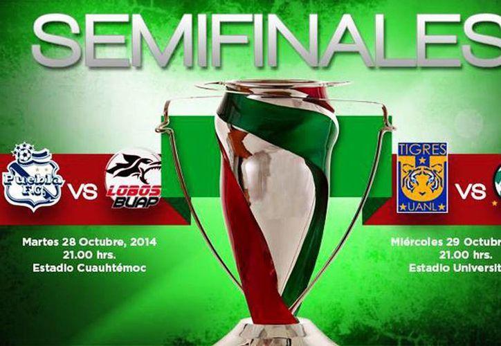 Las semifinales de la Copa Mx serán en un único duelo. (Facebook/Torneo de COPA MX)