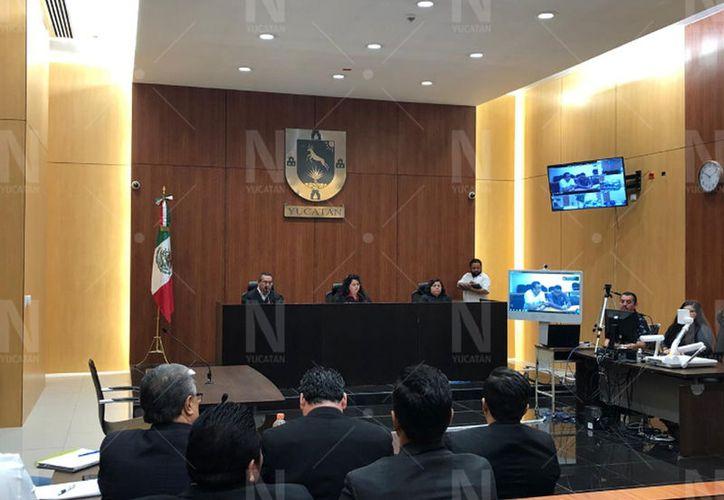 Audiencia de individualización de las sanciones en el caso de feminicidio de Emma Gabriela Molina Canto. (Novedades Yucatán)