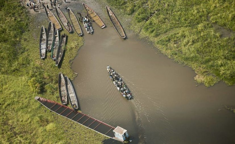 Cientos de personas de  Sudán del Sur se murieron al hundirse la lancha en la que cruzaban el Nilo. (Milenio Novedades)