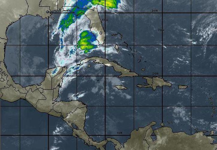 La probabilidad de lluvias es del 40 por ciento en Cancún. (Cortesía/SIPSE)