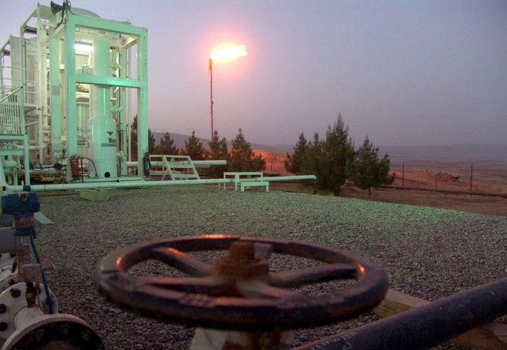 Terminal petrolífera de Taq Taq en Arbil, Irak.  (Archivo/EFE)