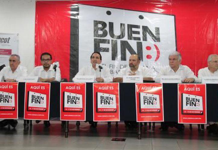 El objetivo de esta edición de El Buen Fin, es superar una derrama de seis mil millones de pesos. (SIPSE)