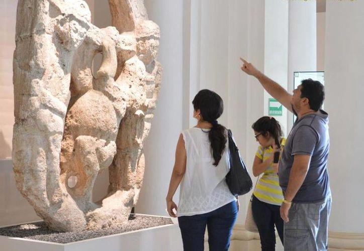 La exposición 'Mayas, el lenguaje de la belleza' presenta 278 espectaculares piezas en el Palacio Cantón. (Milenio Novedades)