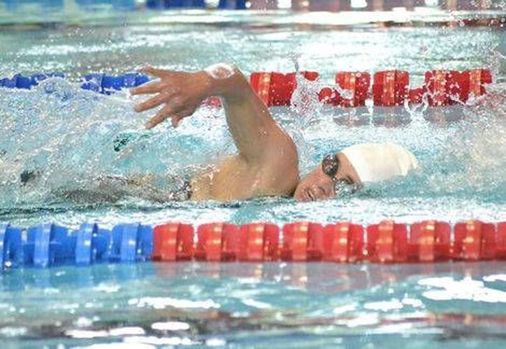 La nadadora Dunia Camacho forma parte de la delegación mexicana que competirá en los I primeros Juegos de la Trisomía, para deportistas con síndrome de Down. (Conade)