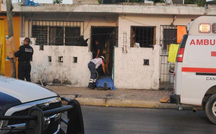 El asesinato se registró en la avenida Bonampak. (Redacción)