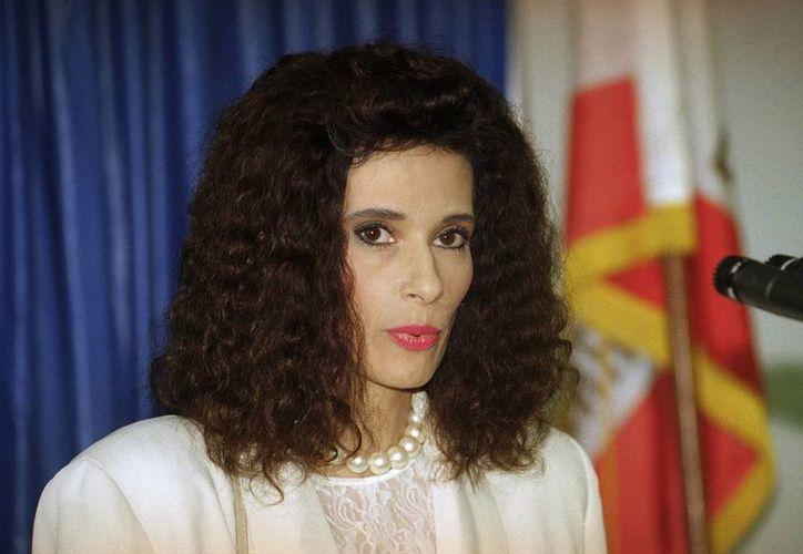 Theresa Saldana protagonizó el drama de 1991-96 'The Commish' como la esposa comprensiva del jefe de policía interpretado por Michael Chiklis, papel que la regresó a la fama. (AP)