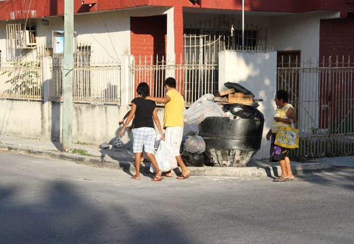 Preparan acciones que disminuyan la generación de basura. (Tomás Álvarez/SIPSE