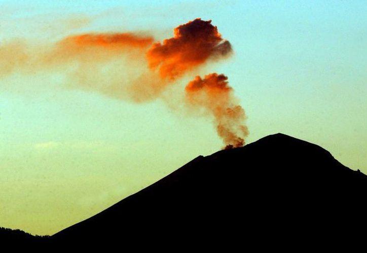 El Semáforo de Alerta Volcánica continúa en Amarillo Fase 2. (Notimex)