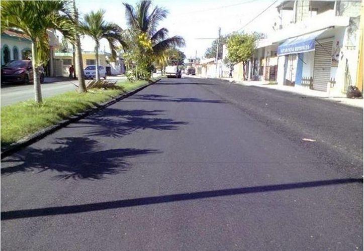 Durante el 2014 se realizaron diversas acciones para el mejoramiento de las vialidades de Chetumal. (Cortesía)