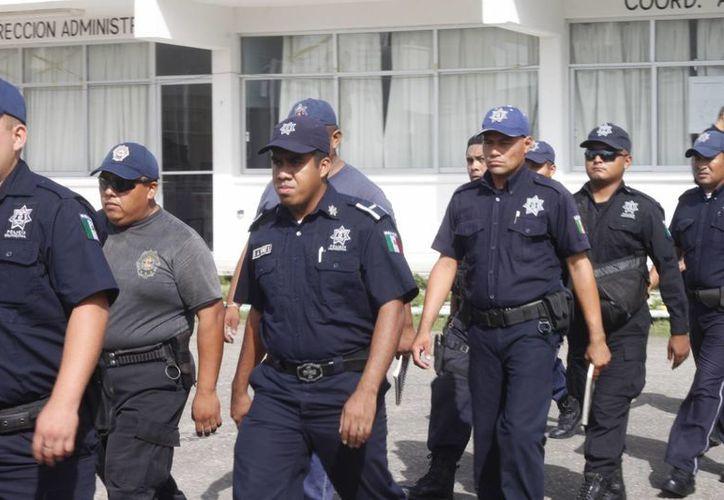La meta para este año es certificar a 210 elementos de la policía acreditable. (Archivo/SIPSE)
