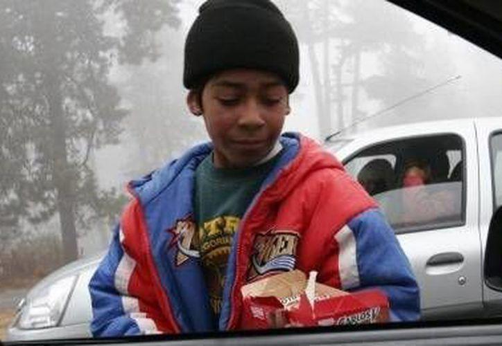 Hasta 2011, 3 millones 35,466 niños, niñas y adolescentes  trabajaban en México. (Milenio)