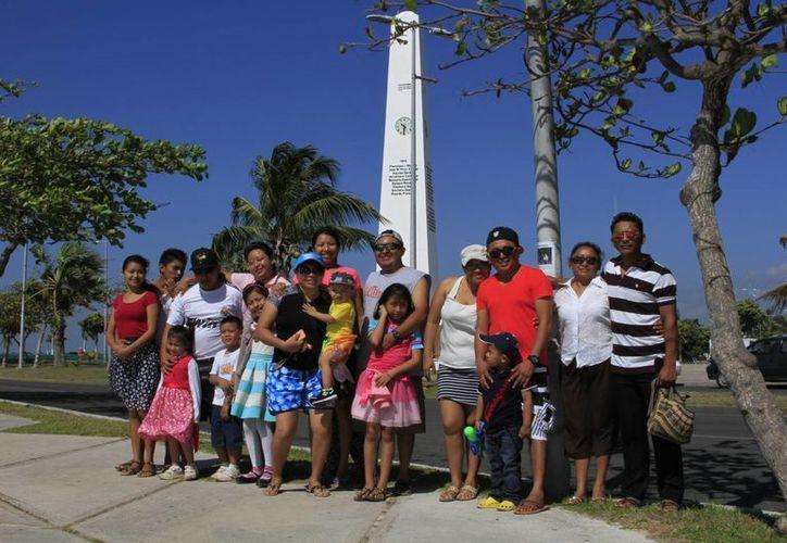 El turismo nacional es el que predomina en estas vacaciones de Semana Santa. (Ángel Castilla/SIPSE)