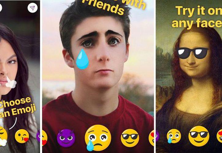 Elige una foto y conviértela en tu emoji preferido. (Foto: internet)