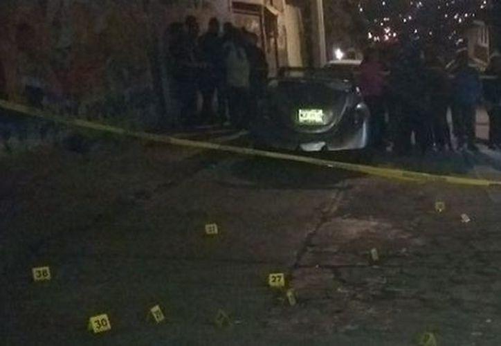 Cuatro hombres murieron por impactos de arma de fuego en Tultitlán. (Milenio)