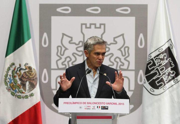 El jefe del gobierno capitalino aseguró que no existen 'focos rojos' en cuanto a la seguridad de los habitantes de la Ciudad de México. (Notimex)