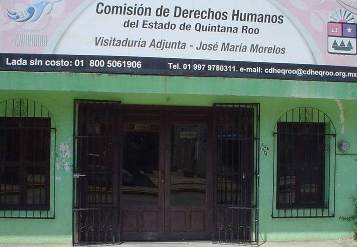 Al mes de noviembre del presente año, la Cdheqroo ya ha registrado en el municipio un total de 32 quejas. (Carlos Yabur/SIPSE)