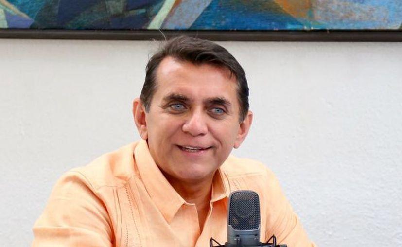 """Diputado por el Distrito Electoral 01, Miguel Ramón Martín Azueta, de la coalición """"Por Quintana Roo al Frente"""". (Redacción/SIPSE)"""