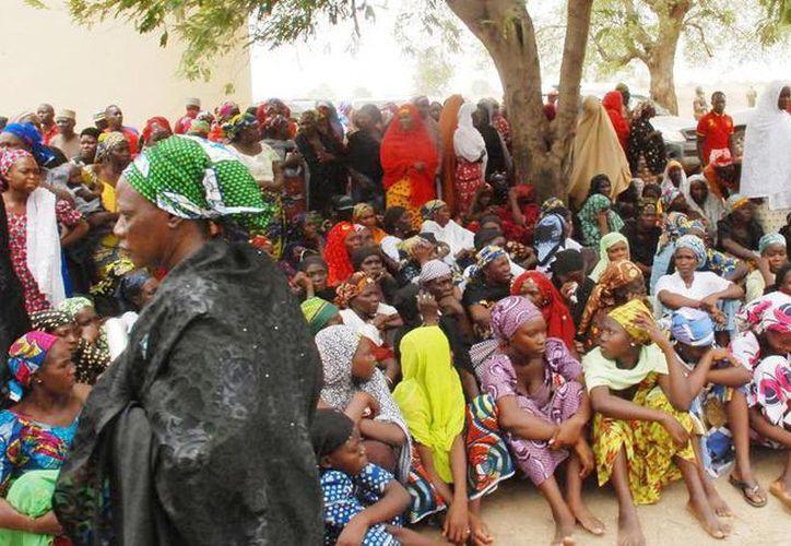 Las mujeres que privaron de su libertad eran parte de un asentamiento de nómadas en el noreste de Nigeria cerca de la ciudad de Chibok. (Archivo/Agencias)